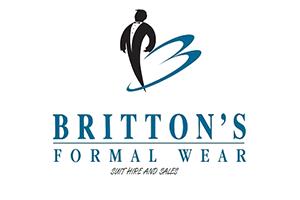 Britton's Formal Wear logo