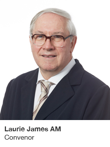 Laurie James AM