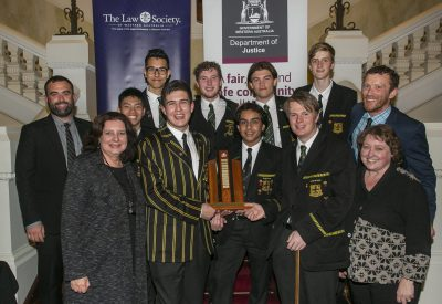 2019 Mock Trial Competition Grand Final Wesley College