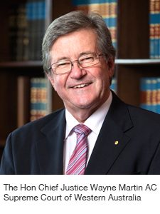 The Hon Chief Justice Wayne Martin AC