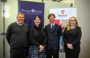 2016 Murdoch Scholarship Most Outstanding Mock Trial Student