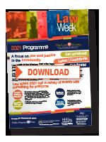 Download Law Week 2021 Programme