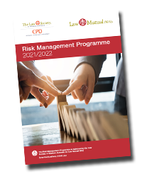 Law Mutual Risk Management Programme 2021/22
